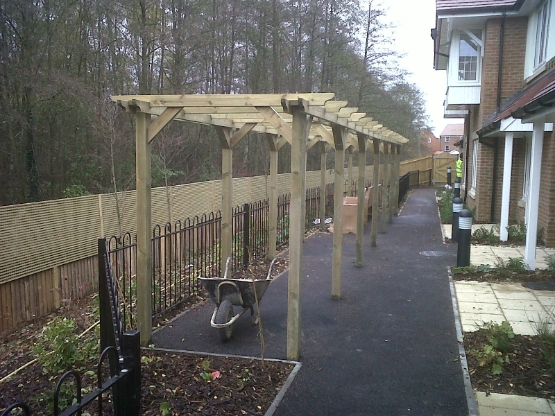 PERGOLA FENCE AND RAILINGS